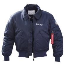 FLY JACKET ΑΣΤΥΝΟΜΙΑΣ ΜΕ ΚΕΝΤΗΜΑ ΚΑΙ ΕΠΩΜΙΔΕΣ